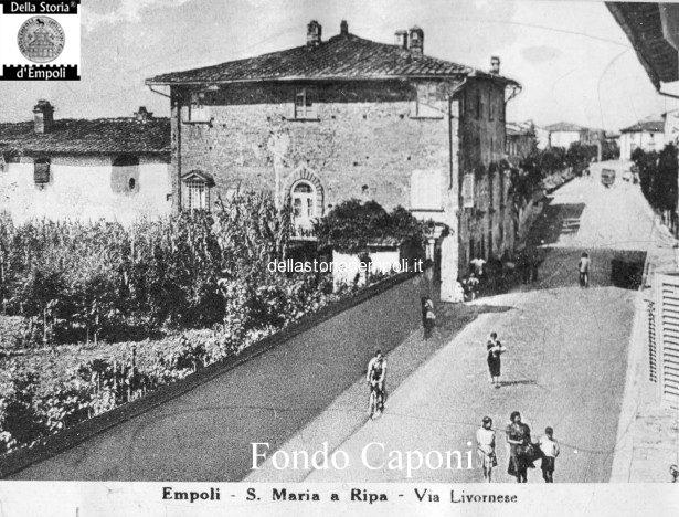 Santa Maria -  Palazzo Zeffi in via livornese