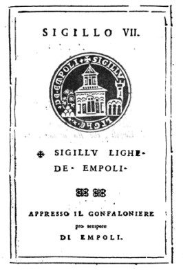 [Documento Originale]: Sigillo Della Lega Di Empoli