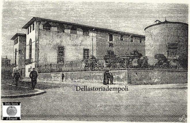 Spedale Vecchio Empoli incisione del 1891