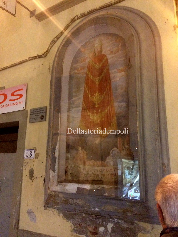 Tabernacolo Madonna Di Loreto Virgilio Carmignani