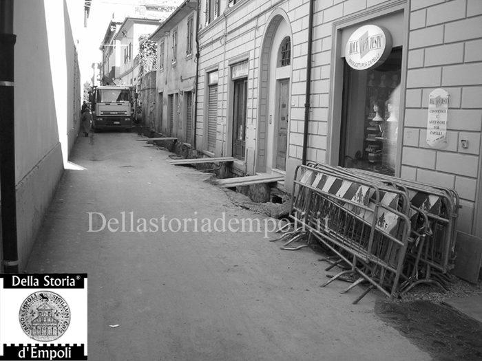 Lavori Stradali In Via Marchetti Nel 2004