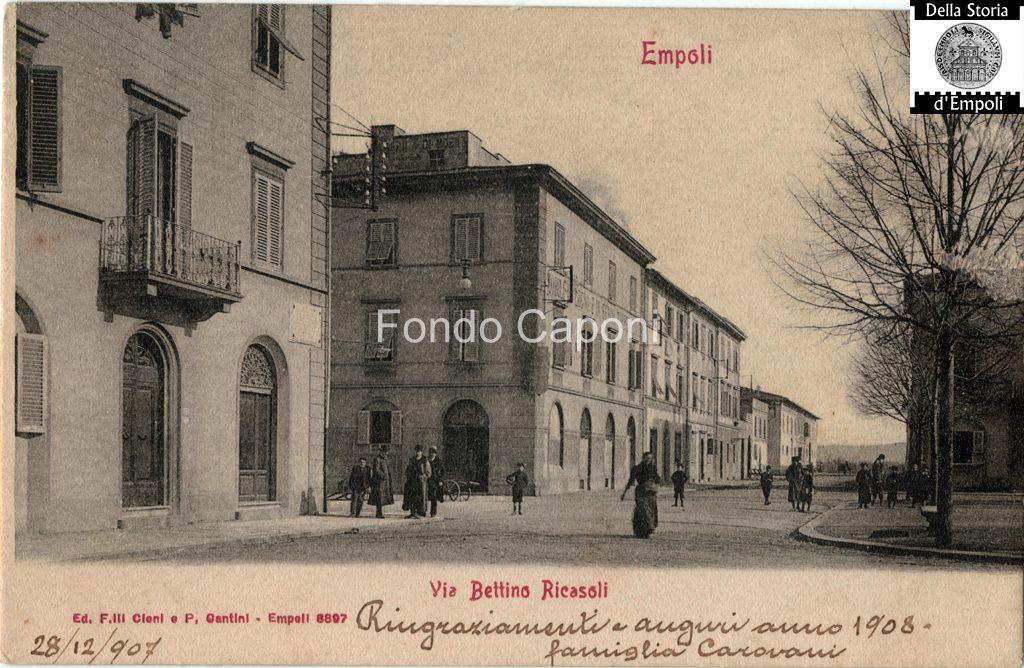 Via Ricasoli 1908 Empoli