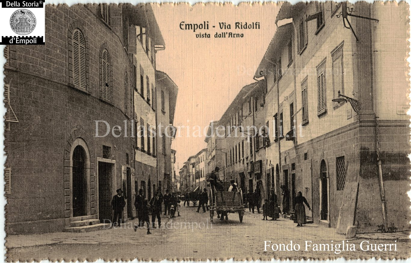 Empoli, Foto D'epoca: Via Ridolfi Presso Il Piaggione