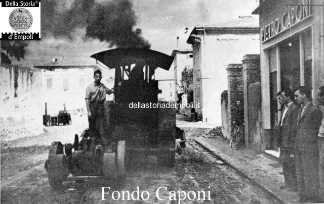 Fondo Caponi Empoli, Vol 1 Pagina 19: Panoramica Dal Campanile Scomparso, Chiesa Delle Benedettina, Via Salvagnoli