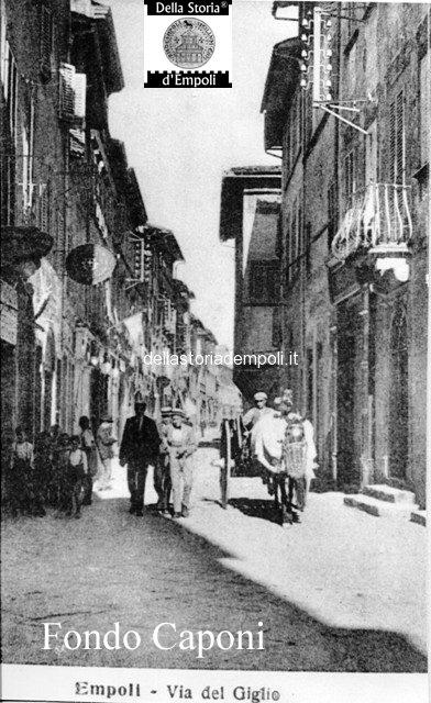 Via del Giglio incrocio Via Marchetti