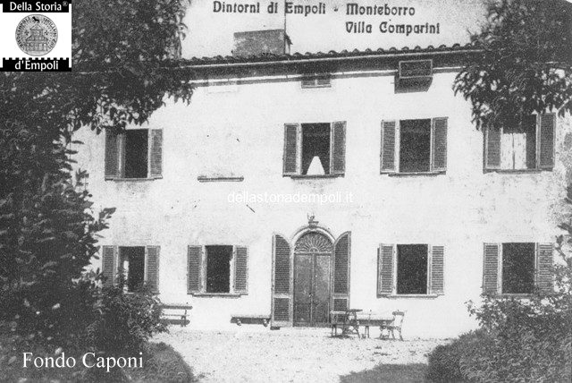 Villa Comparini a Monteboro