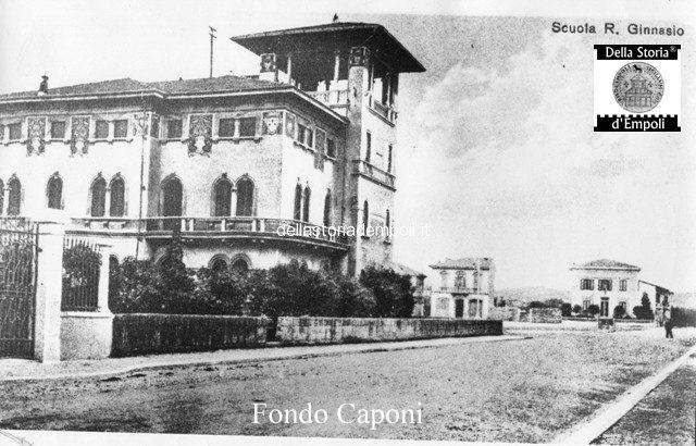 Villa Parisio Cantini, Ex ginnasio e attuale Questura