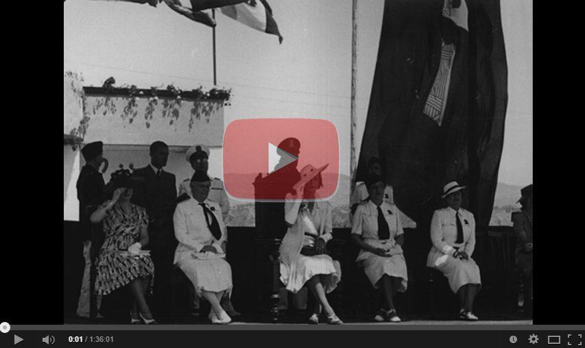 Visita Principessa Maria Jose 1939