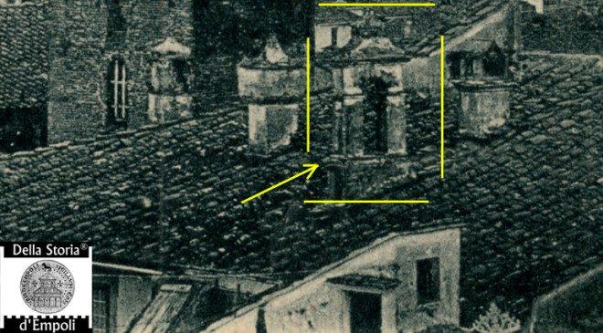 Particolare della campana del Palazzo Pretorio