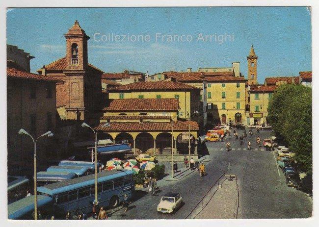 La Vecchia Stazione Bus In Piazza Della Vittoria, Anni '70