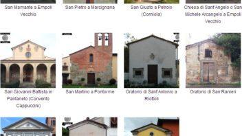 Prospetti di chiese a Empoli, parte 1