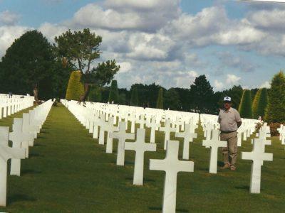 Il cimitero americano di Colleville Normandia