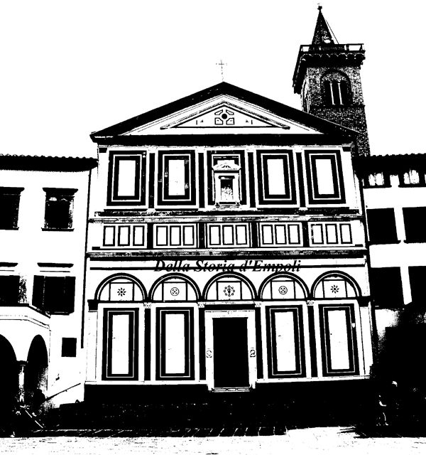 Collegiata di Empoli. Photo by C. Pagliai