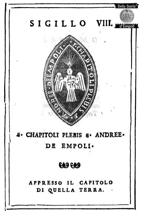 Sigillo Del Capitolo Della Pieve S. Andrea Di Empoli