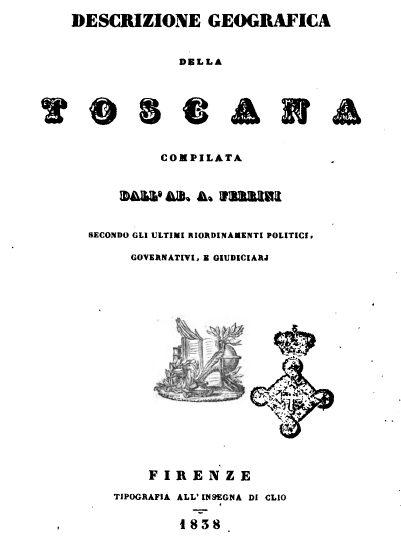 Descrizione Geografica Ferrini 1838