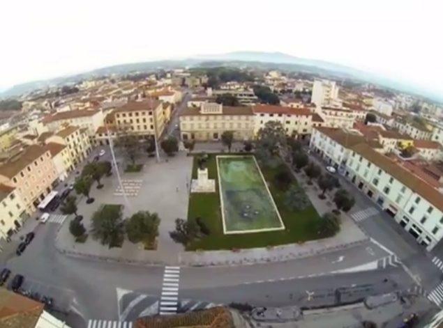 Droning Empoli: Piazza Della Vittoria E Madonna Del Pozzo