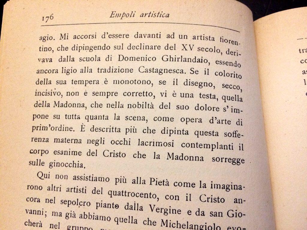 Odoardo Hillyer Giglioli: Una Tavola Misteriosa A Santa Maria A Ripa…
