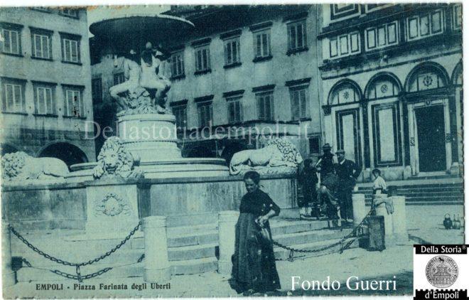 empoli piazza dei leoni fontana pampaloni
