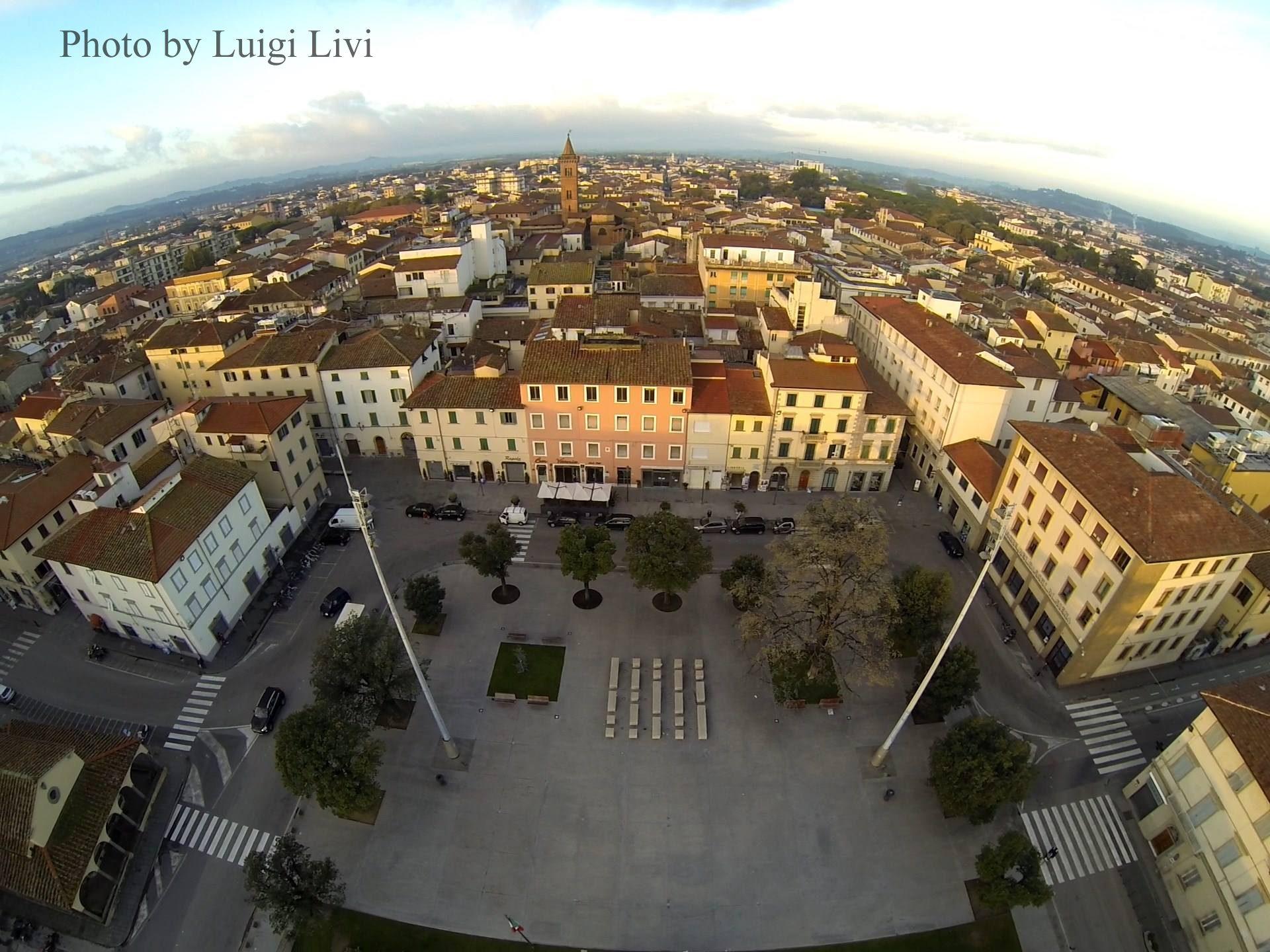 Empoli, Vista Da Un Rondone Empolese