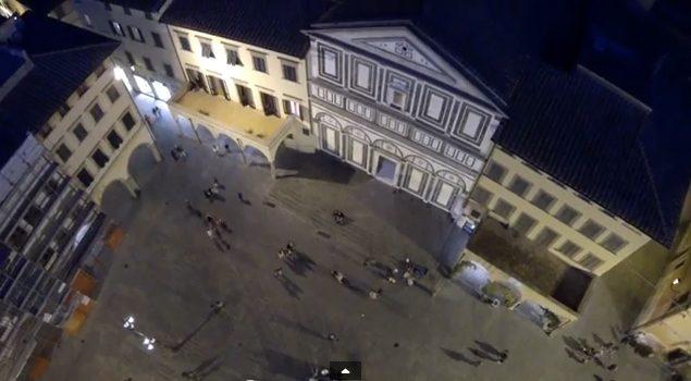 Empoli Notturna Vista A Volo Di Rondine.. Di Luigi Livi