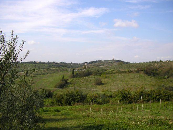 Campagna nei pressi di Fontanella