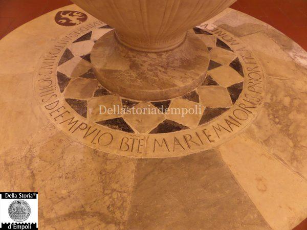 Fonte Battesimale Bernardo Rossellino (3)