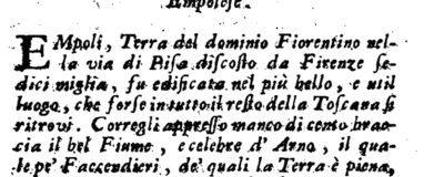 istorietta Lami 1741