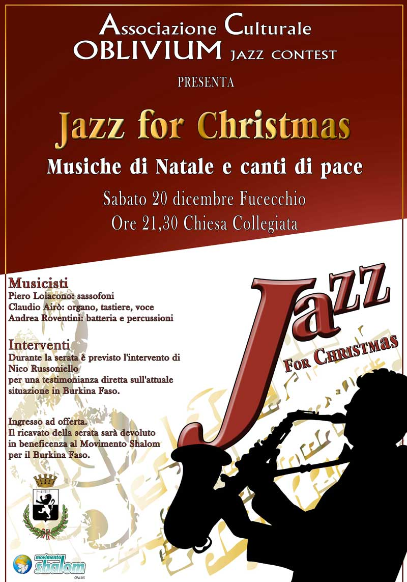 Jazz For Christmas A Fucecchio