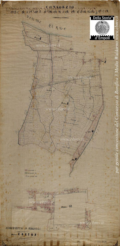 Consorzio Del Rio Di S. Maria A Cerbajola 1878