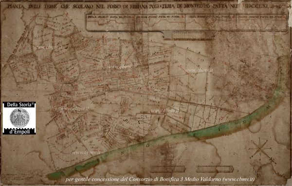 mappa n 13 Imposizione Fibbiana 1761