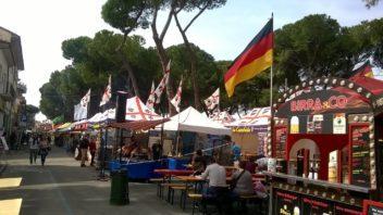 Il 1° Mercato Europeo a Empoli, Piazza Matteotti e Ristori