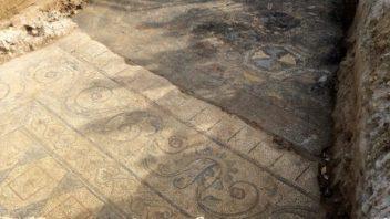 Siamo stati a vedere i mosaici romani a Limite, in via Palandri