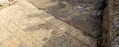 mosaico romano a Limite Via Palandri – 2