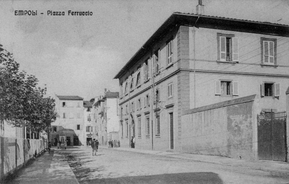 Piazza Ferruccio, Prima Dell'apertura Col Largo Della Resistenza