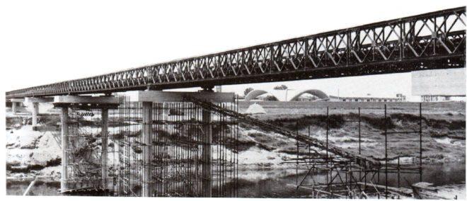 """Ponte """"vecchio"""" di Avane costruito con tecnica Bailey"""