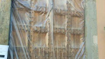 Completato il restauro del portone di Palazzo Pretorio