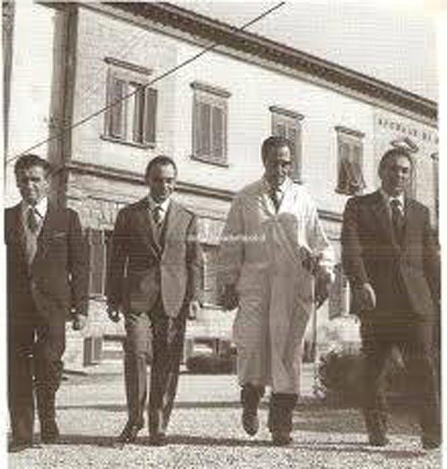 Il Professor Piero Tuci – Foto Ricordo Di Roberto Taviani