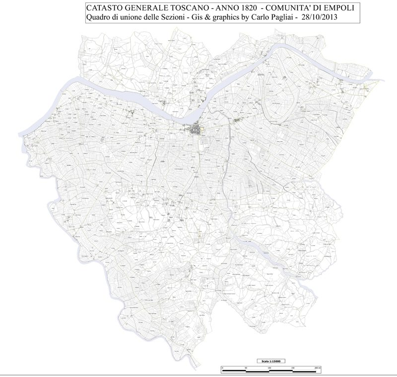 Catasto Leopoldino 1820 Di Empoli