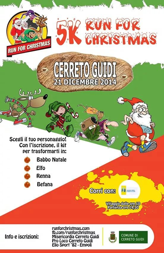 Run For Christmas Cerreto Guidi