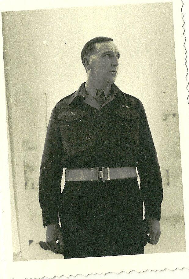 """Foto 2: il tenente colonnello """"Stoney"""" Richardson."""