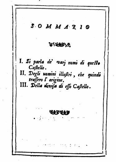 """[Documento Originale]: Sigillo Del Comune Di Pontormo, Tomo VI, Sigillo N° XI """"Osservazioni"""" Del Manni"""