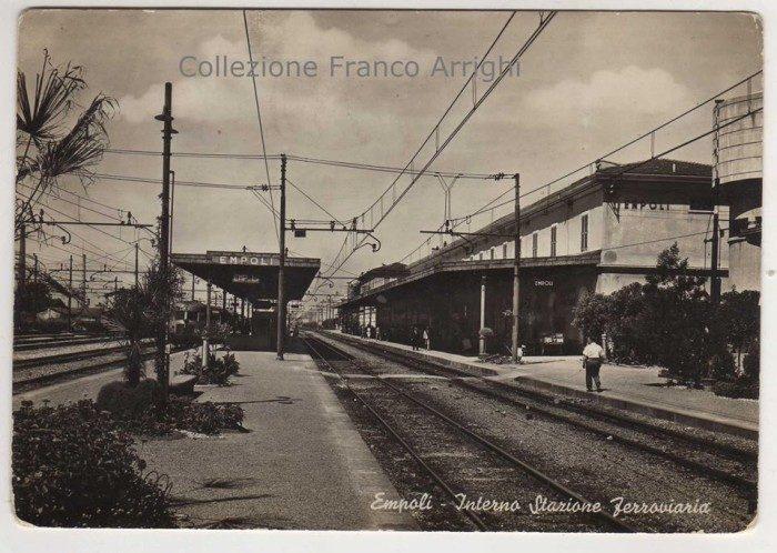 La Stazione Di Empoli Tra Gli Anni '50 E '60, Dal Fondo Franco Arrighi