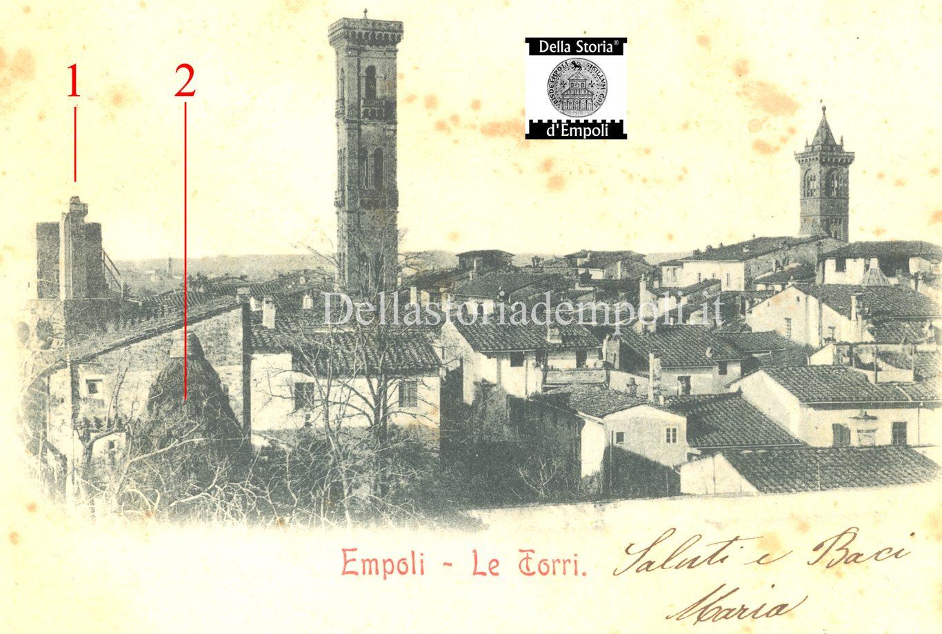 Veduta Di Scorcio Del Torrino De' Righi Da Via Roma