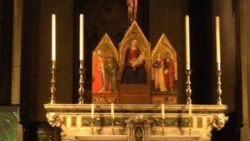 Ricollocato il trittico nella Collegiata di Sant'Andrea a Empoli