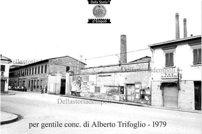 Ingresso ex Vetreria Taddei da Via Rosselli - p.g.c. di Alberto Trifoglio