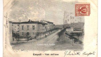 Via dell'Arno verso il ponte
